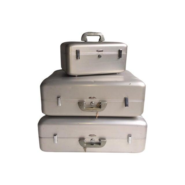 Iconic Mid-Century Halliburton Suitcase Collection - Image 1 of 10
