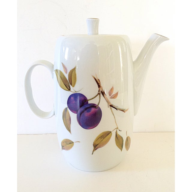 Royal Worcester Coffee Pot - Image 3 of 5