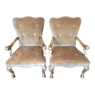 Therien Studios Baroque Arm Chairs- A Pair