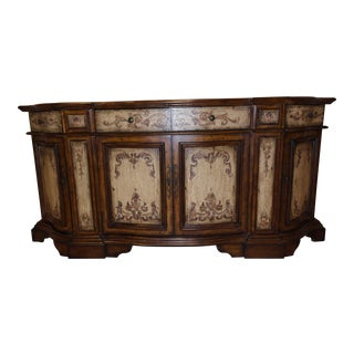 Hooker Hand Painted Credenza Buffet