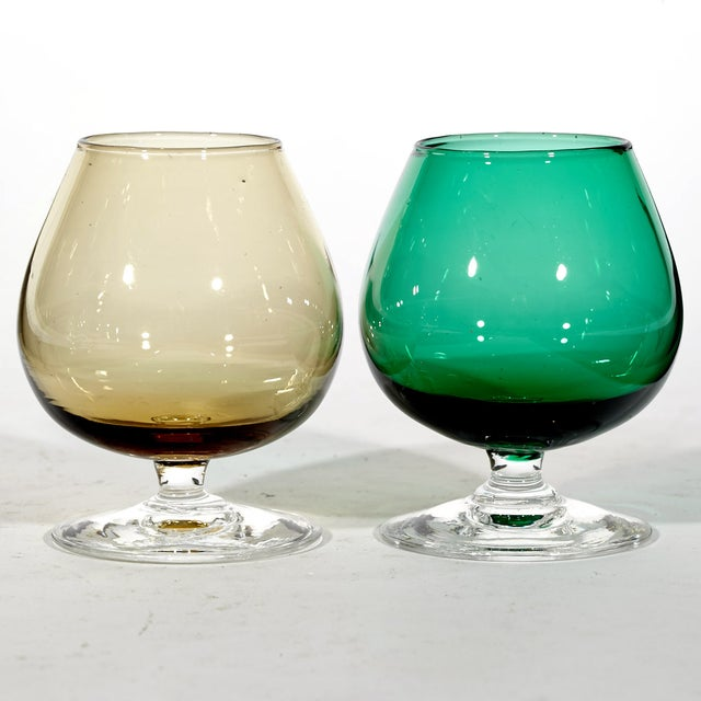 1960's Multicolored Cordial Shots - Set of 5 - Image 4 of 4