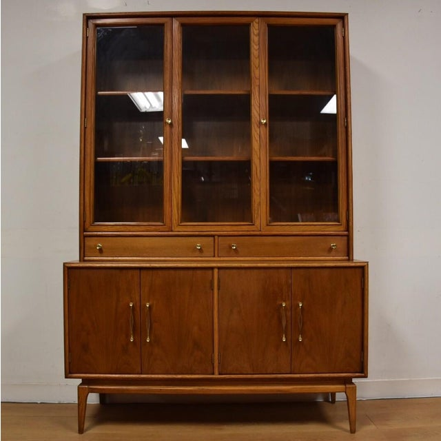 Image of Keller Walnut Hutch Credenza