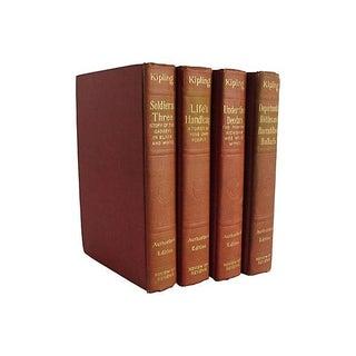 Works of Rudyard Kipling - Set of 4