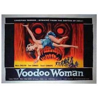 """Voodoo Woman"" Original Movie Poster Circa 1957"