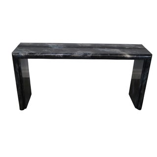 "Milo Baughman ""Clouds"" Parsons Console Table"