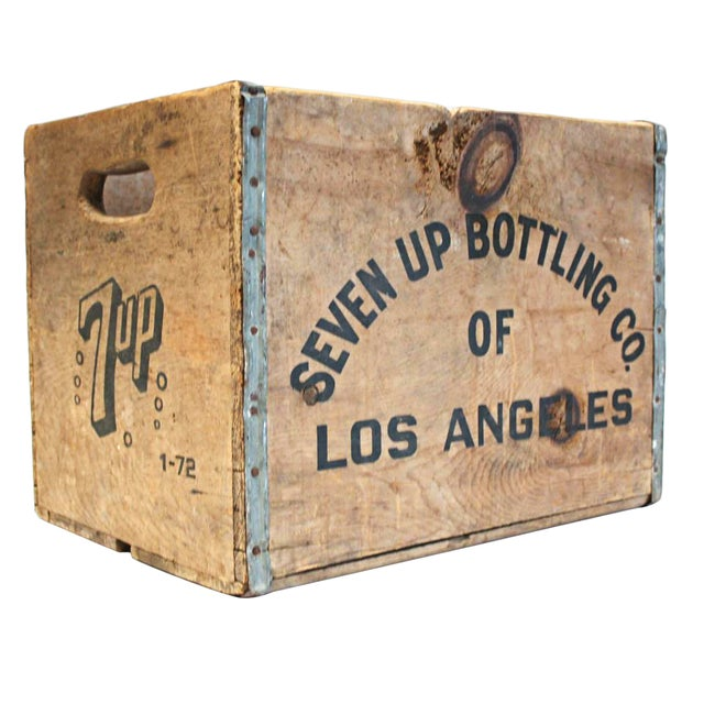 Vintage Wooden 7-Up Crate - Image 1 of 6