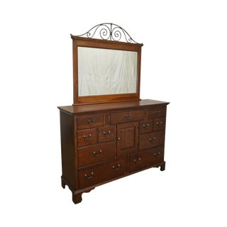 Pennsylvania House Traditional Cherry Wood Dresser w/ Mirror