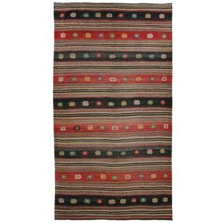 Vintage Turkish Kilim | 5'9 x 10'10 Flatweave