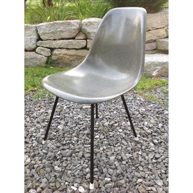 eames herman miller zenith shell x base chair chairish