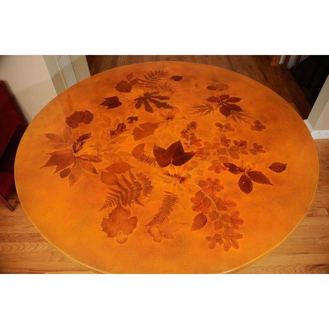 Lacquered Dining Table by Muriel De Kersaintg - Image 3 of 7