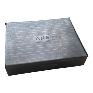 Vintage Silver Monogrammed Box