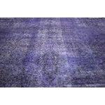 "Image of Purple Overdyed Oriental Rug - 10' 1"" x 12' 1"""