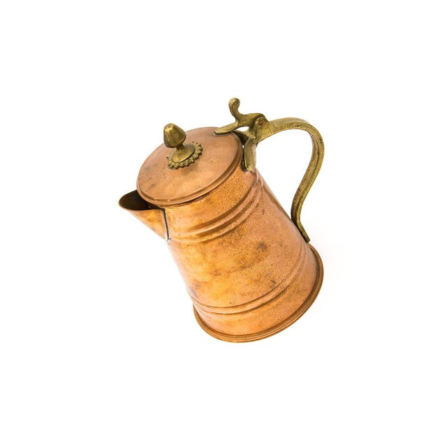 Turkish Copper Tea Kettle - Image 2 of 5