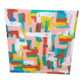"""Sunny Life"" Abstract Artwork"