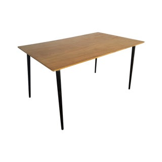 Eames for Herman Miller DTW-3 Wood Dining Table