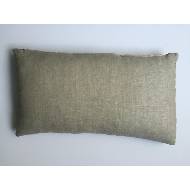 Gray And White Striped African Oversize Pillow Chairish