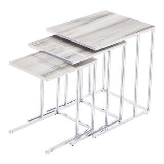Blink Home Cream Nesting Tables - Set of 3