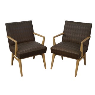Mid-Century Russel Wright Lounge Chairs - Pair