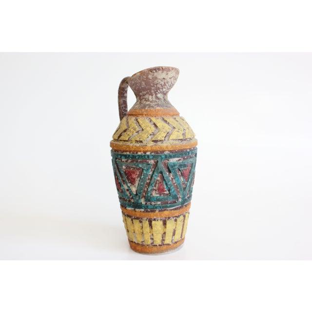 Geometric Incised Italian Art Pottery - Set of 3 - Image 5 of 7