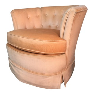 Drexel Heritage Tufted Tub Chair