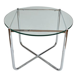 Mies van der Rohe MR Round Side Table