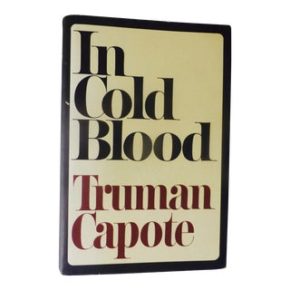 1965 'In Cold Blood' Book by Truman Capote