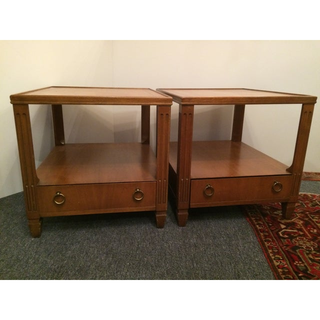 Baker Mid-Century Tables - Pair - Image 6 of 6