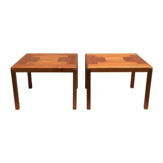 Danish Teak End Tables - A Pair