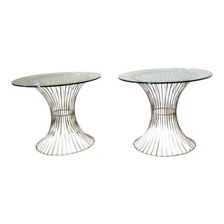 Warren Platner Style Side Tables - A Pair
