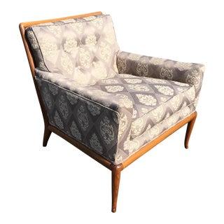 T. H. Robsjohn-Gibbings for Widdicomb Saber Leg Lounge Chair
