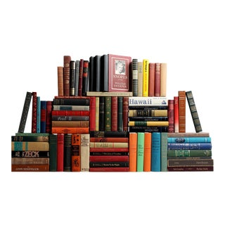 Curated American Classic Books - Set of 75