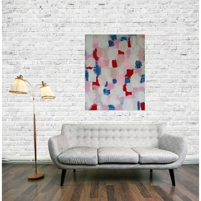 """Image of Abstract Painting """"Chantelle"""" by Susie Kate"""
