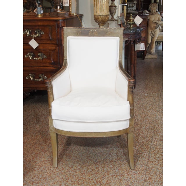 Image of Late 18th Century French Empire Bergere