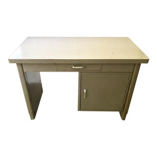 Mid-Century Modern Steam Punk Desk