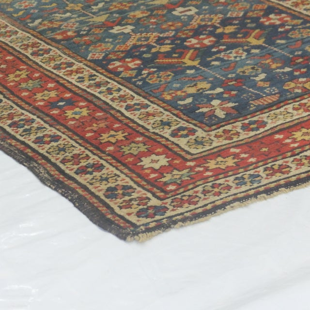 """Image of Antique Russian Shirvan Rug - 3' X 4'6"""""""
