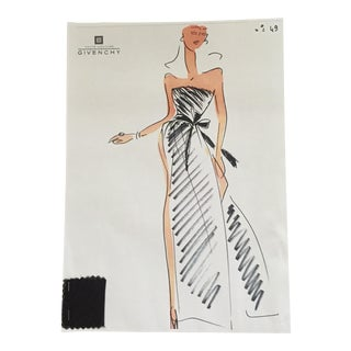 Givenchy Croquis Fashion Sketch