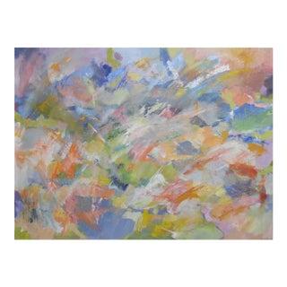 Nicki Beiderman Abstract Landscape Painting