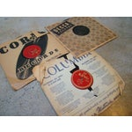 Image of Antique Records in Paper Sleeves - Set of 9