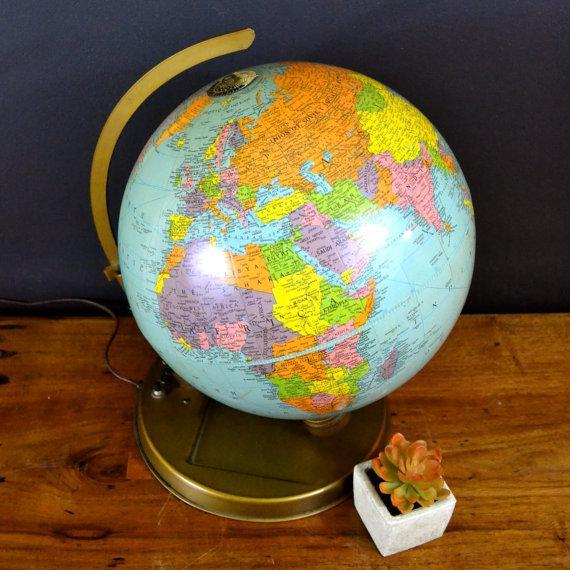 1957 Mechanical Satellite Orbit Demonstrator Globe - Image 4 of 5