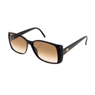 Saphira Rectangular Black Sunglasses
