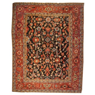 Early 20th Century Heriz Rug