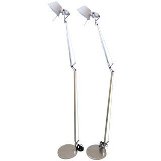 Artemide Tolomeo Floor Lamps - A Pair
