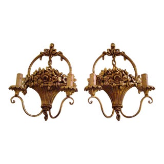 Italian Wall Sconces - A Pair