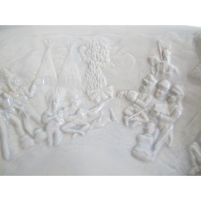 Image of American White Ceramic Wash Basin & Pitcher