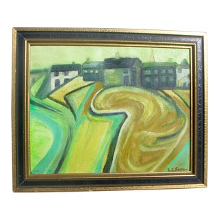Mid-Century Expressionist Landscape