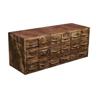 1950s Metal Storage Cabinet
