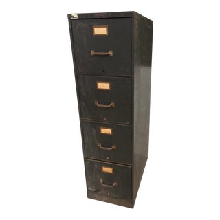 Vintage Industrial Chic Terrell's Metal Filing Cabinet