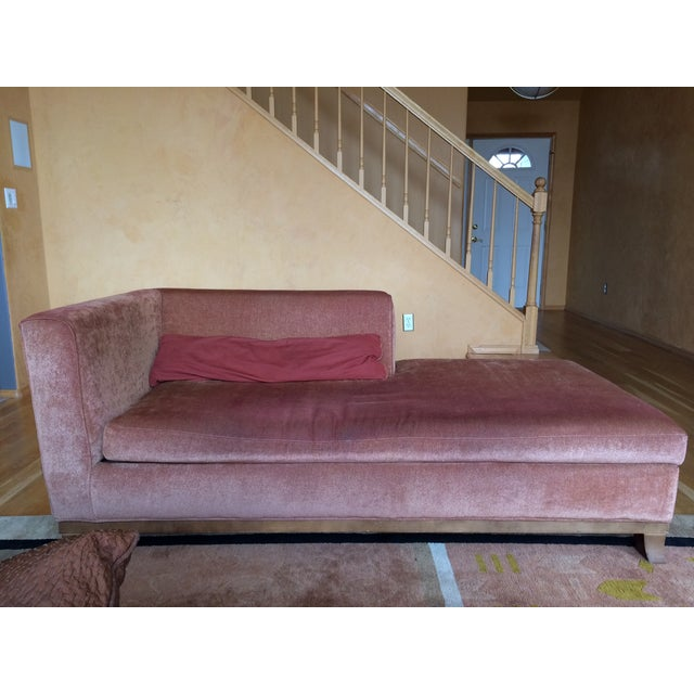 Thayer Coggin Hudson Chaise Lounge - Image 2 of 3