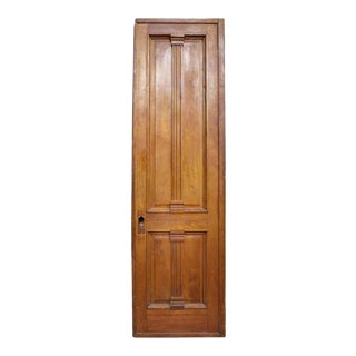 Victorian Style Oak & Walnut Door