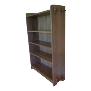 Stickley Mission Oak Single Open Bookcase